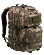 MIL-TEC 14002284 BACKPACK US ASSAULT LARGE Taktikai Hátizsák - Mandra wood/Kígyóbőr-terepmintás