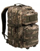 MIL-TEC 14002284 BACKPACK US ASSAULT LARGE Taktikai Hátizsák - Mandra wood/Kígyóbőr-terepmintás
