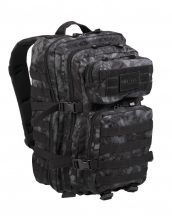 MIL-TEC 14002285 BACKPACK US ASSAULT LARGE Taktikai Hátizsák - Mandra night/Sötét kígyóbőr mintás