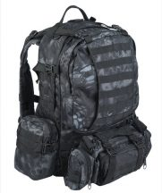 MIL-TEC 14045085 MANDRA NIGHT DEFENSE PACK ASSEMBLY Taktikai Hátizsák - terepszín / mandra night