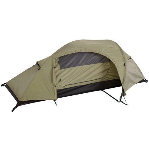 MIL-TEC 14201005 1 személyes Taktikai sátor - Coyote/Barna