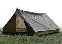 MIL-TEC 14206001 2-MEN TENT MINI PACK SUPER 2 személyes Taktikai Sátor - Olive/Olivazöld