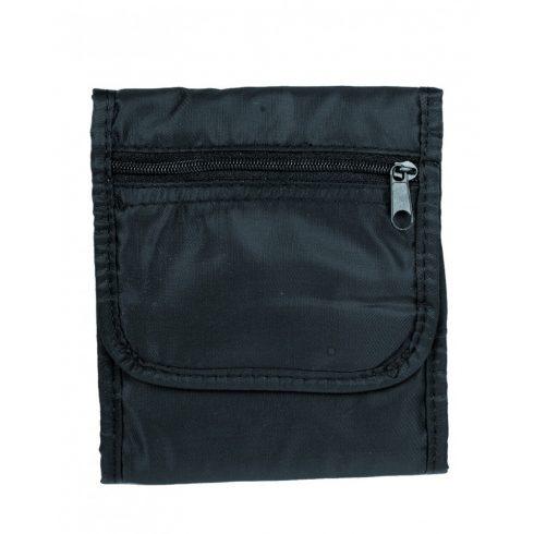 MIL-TEC Nyakpénztárca - Fekete