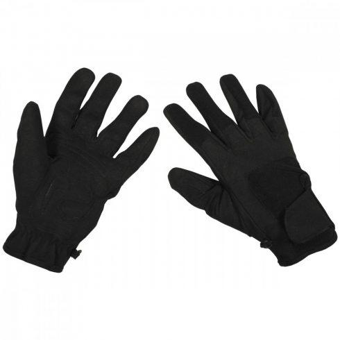 """Gloves, """"Worker light"""", black kesztyű"""