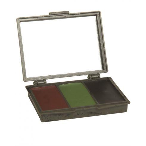 MIL-TEC 3 színű arcfesték