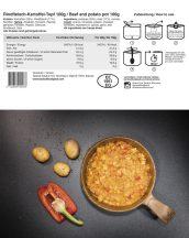TACTICAL FOODPACK® Marha és krumpli