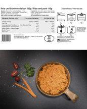 TACTICAL FOODPACK® Sertéshús és rizs