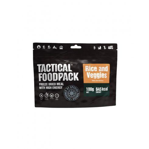 TACTICAL FOODPACK® Rizs zöldséggel
