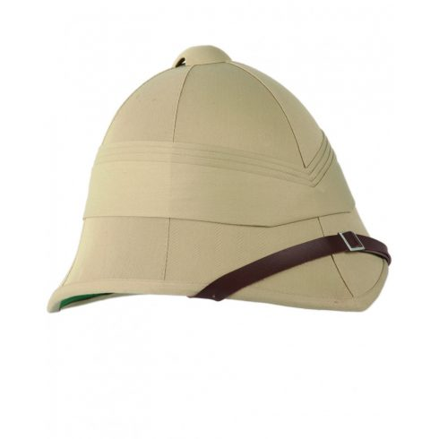 BRITISH KHAKI PITH HELMET (OLD STYLE) - trópusi kalap