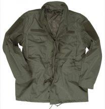 MIL-TEC 17810317 US BLACK M65 3-LAY. LAMINAT FIELD JACKET (parka kabát, laminált, béléssel)