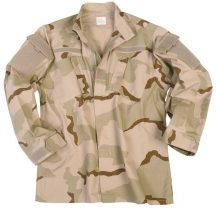 MIL-TEC 11935060 US 3-COL. DESERT R/S ACU FIELD taktikai zubbony
