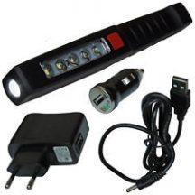 LED Penlight, magnet, clip, rechargeable