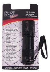 FOX Outdoor 26353 Alumínium házas vízálló Taktikai LED Lámpa - Szuper Fényes!