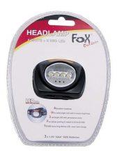 FOX Outdoor 26405 Taktikai vízálló LED Fejlámpa