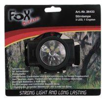 FOX Outdoor 26433 Taktikai vízálló LED Fejlámpa