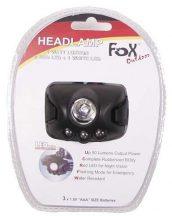 FOX Outdoor 26447 Taktikai vízálló LED Fejlámpa