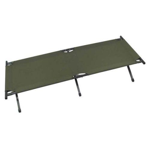 MFH 31933 Taktikai amerikai tábori ágy, aluminium vázas - Olivazöld