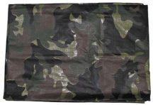 MFH 32401 Taktikai Ponyva, több méretben - Woodland/Terepszínű