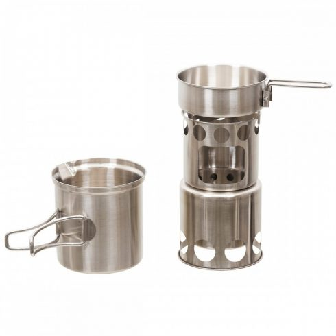 """Cook Set, """"Travel"""", Stainless Steel"""