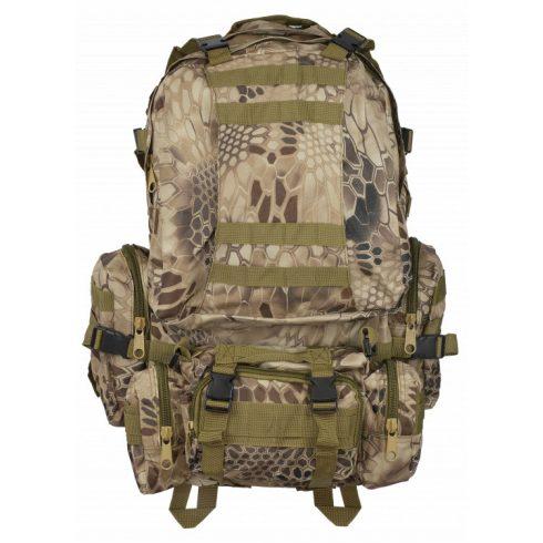 Barbaric backpack.Coyote phyton Camo 50 lt - hátizsák