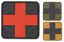 "Velcro patch ""First aid"" 3D 5*5"