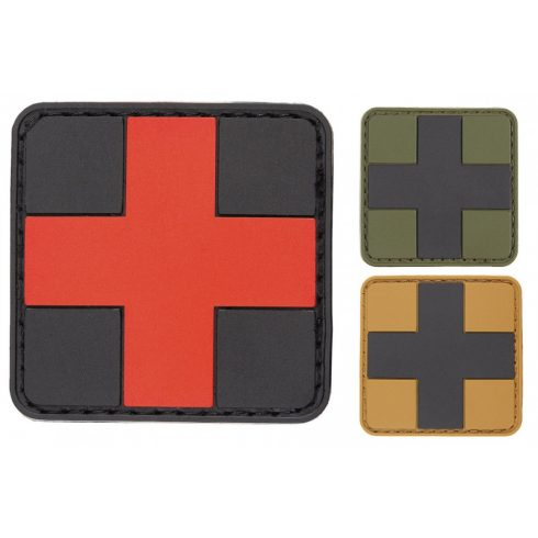 """MFH Velcro patch """"First aid"""" 3D 5*5"""