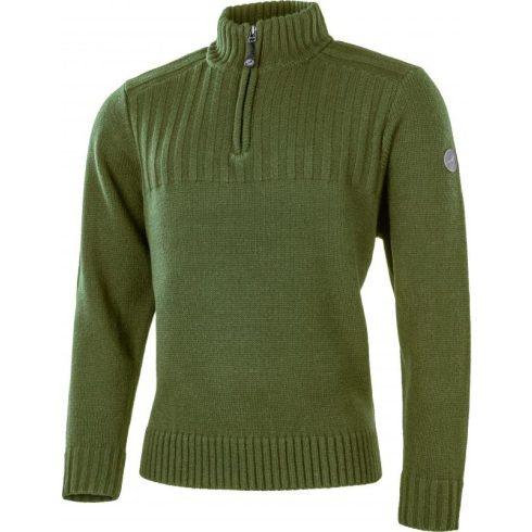 Albatros Fitter kötött pulóver - zöld
