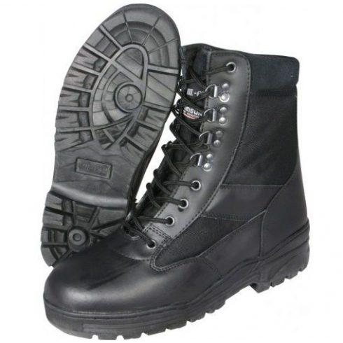 MIL-COM BOOP Patrol Boot Black taktikai bakancs