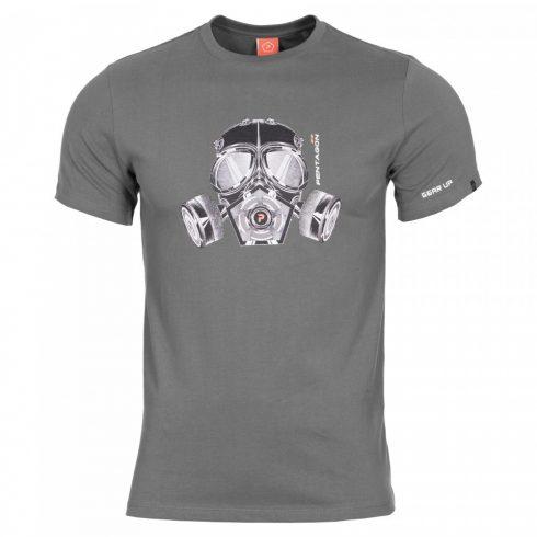 Pentagon K09012gm Gas Mask taktikai póló - Több színben!