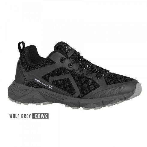 KION TREKKING SHOES sportcipő, szürke-fekete
