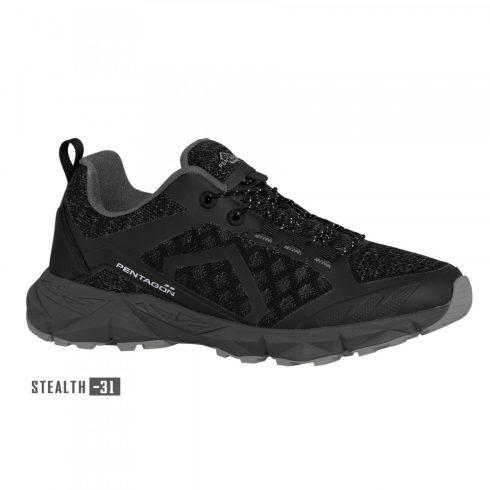 KION TREKKING SHOES sportcipő, fekete