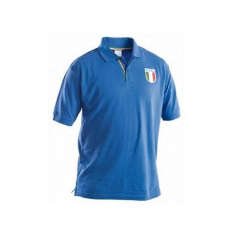 P&P Italia póló - azúrkék