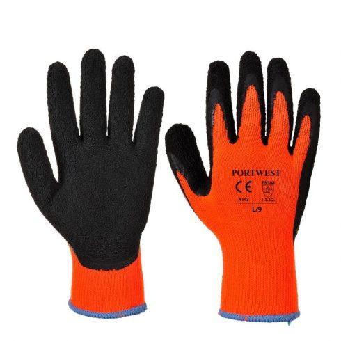 A143 - Thermal Soft Grip kesztyű - Narancs