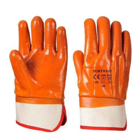 A460 - Glue-Grip kesztyű - Narancs
