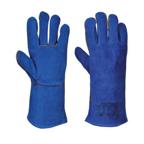 A510 - Hegesztő hosszú szárú kesztyű - kék
