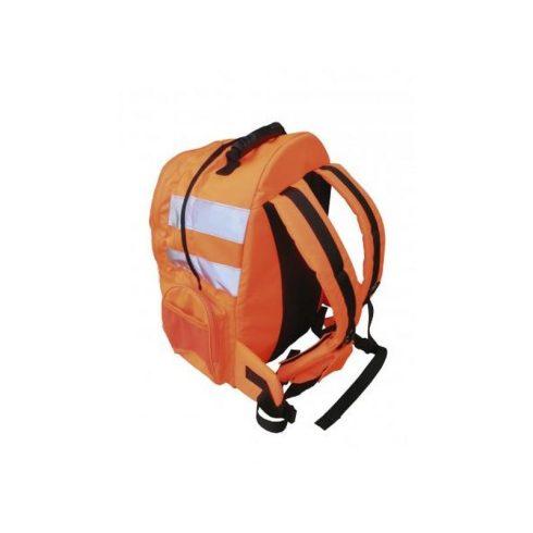 B904 - Jól láthatósági hátizsák, gyorskioldóval - narancs