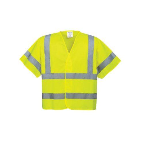 C471 - Jól láthatósági póló - sárga