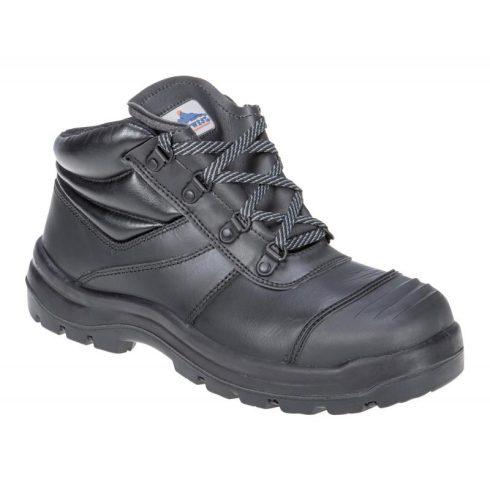 FD09- Trent orrborításos védőcipő S3 - fekete