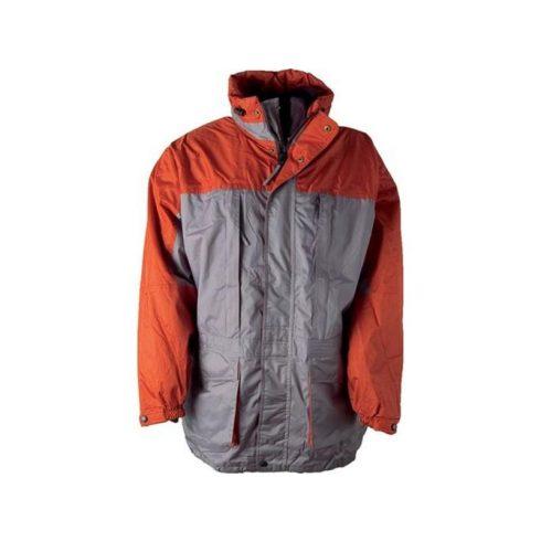 URAL - Pes/PVC Polár Téli kabát - piros