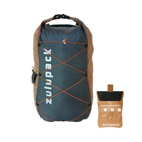 Zulupack Összehajtható hátizsák 17L - Camel