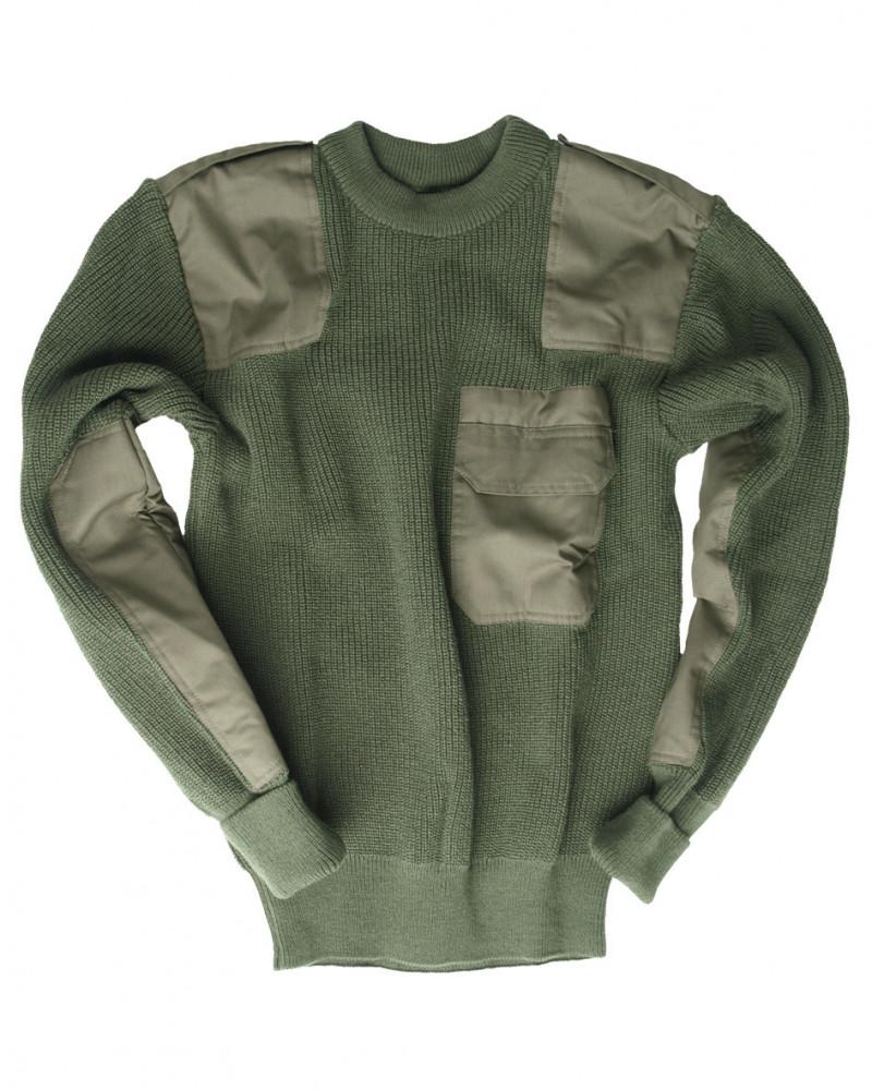 MIL-TEC NATO pulóver - Olivazöld