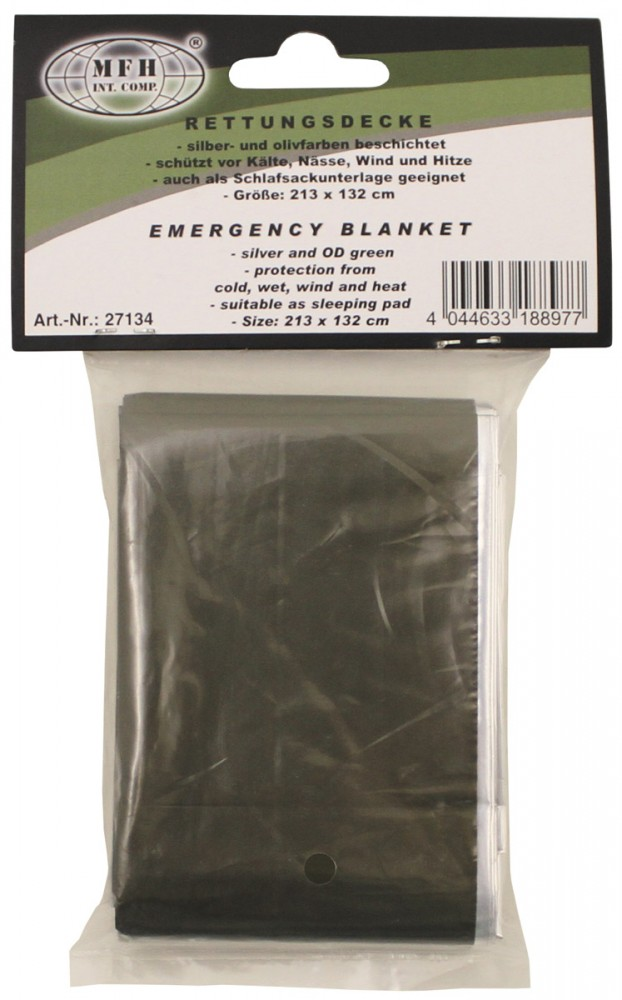 MFH Túlélő takaró (hőszigetelő fólia)