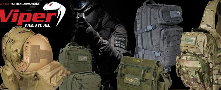 Viper Taktikai hátizsákok, táskák